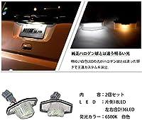 tesss ホンダ用 LED ライセンスランプ 36LED ホワイト ナンバー灯 純正交換型 ライト 外装 リア カスタムパーツ