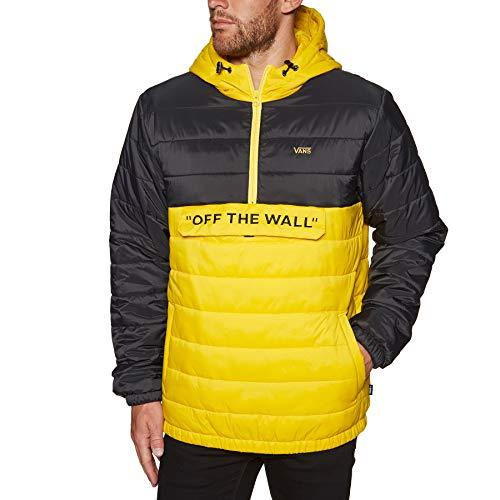 Vans Carlon Anorak Puffer Jacke - Sulphur-Bla Größe: XL Farbe: Sulphur-Black