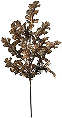 AUF001 22 Inch Metallic Leopold Spray - Copper/Black Autograph Foliages