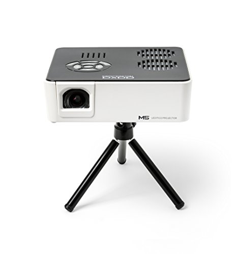 AAXA M5 Mini Portable Business Projector with Built-in Rechargeable Battery, 900 Lumens High Brightness, Native WXGA HD Resolution, Onboard Media Player, 20,000 Hours LED Photo #5