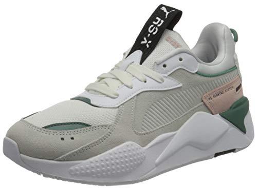 PUMA Damen RS-X Reinvent WN S Sneaker, Weiß Blau Fichte, 40.5 EU