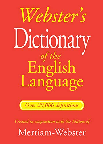 Bendon Webster's Dictionary of The English Language