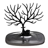 LMJI Soporte de árbol de pájaro Retro, joyería, Pendientes, Collar, Anillo, exhibición, Soporte...