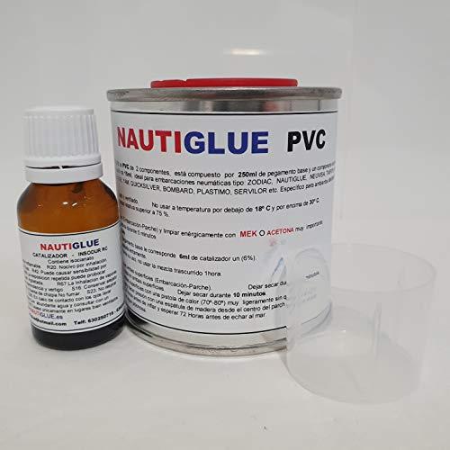Nautiglue Pegamento para la reparación de Zodiac y neumáticas de PVC (250 mililitros)