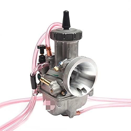 WAZDV Carburador 33 34 35 36 38 40 42mm Universal 2T 4T Motor Dirt Bike Motocross Motoccle Scooter (Color : 42mm keih)