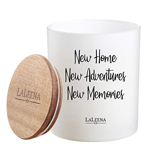 House Warming Candle - New Home New Adventures New Memories (Lavender, 14 oz)