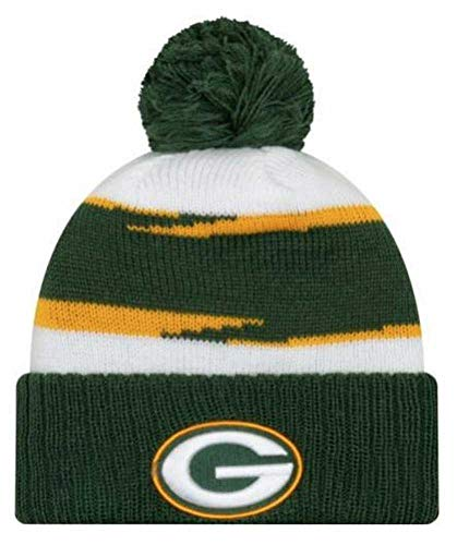New Era 2018 Mens NFL Thanksgiving Day Knit Hat (Green Bay Packers)