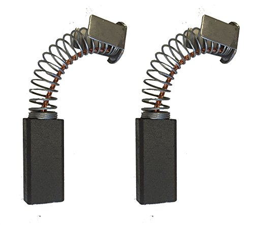 2x Carbon Brushes - Use on Kango Hammer-Drill (Size - 6.3 X 9.5 X 23/21)