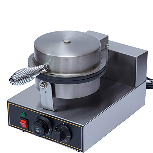Wafelmachine Professioneel Non-stick Pan Sandwich Machine Grill/Oven Geschikt voor het koken Egg Muffin Cake Bubble Waffles Silver