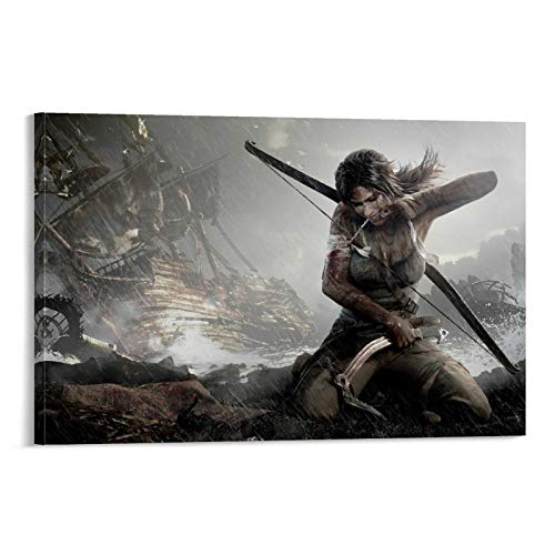Movie Star Poster Tomb Raider The Ten Thousand Immortals Canvas Art Poster and Wall Art Picture Print Modern Family Bedroom Decor Posters 08x12inch(20x30cm)