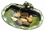 Smart Solar Keramik-Wasserspiel 22300M01 Frosch