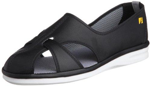 [ミドリ安全] 作業靴 静電気帯電防止 エレパス PS01S レディース ブラック JP 24(24.0cm)
