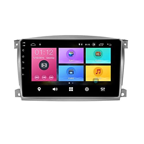 WHL.HH Carro Multimedia Revertir Imagen Android 10.0 Video Receptor DVD Jugador Apoyo Vehículo Electrónica para R OEWE 750 2006-2009 Radio FM WiFi GPS Navegación,S1