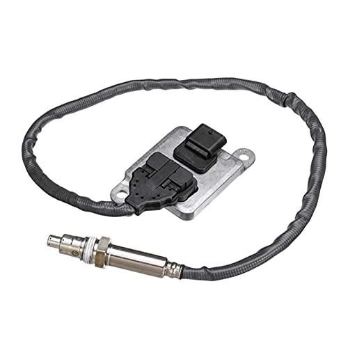 JIANGJIAMIN El Sensor de oxígeno de nitrógeno es Adecuado para BMW 5er E60 E61 523I 525i 525xi 530i 530xi 6er E63 E64 630I 75871295WK96610L (Color : Black)