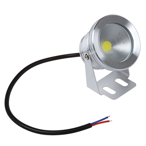 SODIAL(R) FOCO PROYECTOR LED 8W 750LM 12V IP67 IMPERMEABLE BARCO EXTERIOR