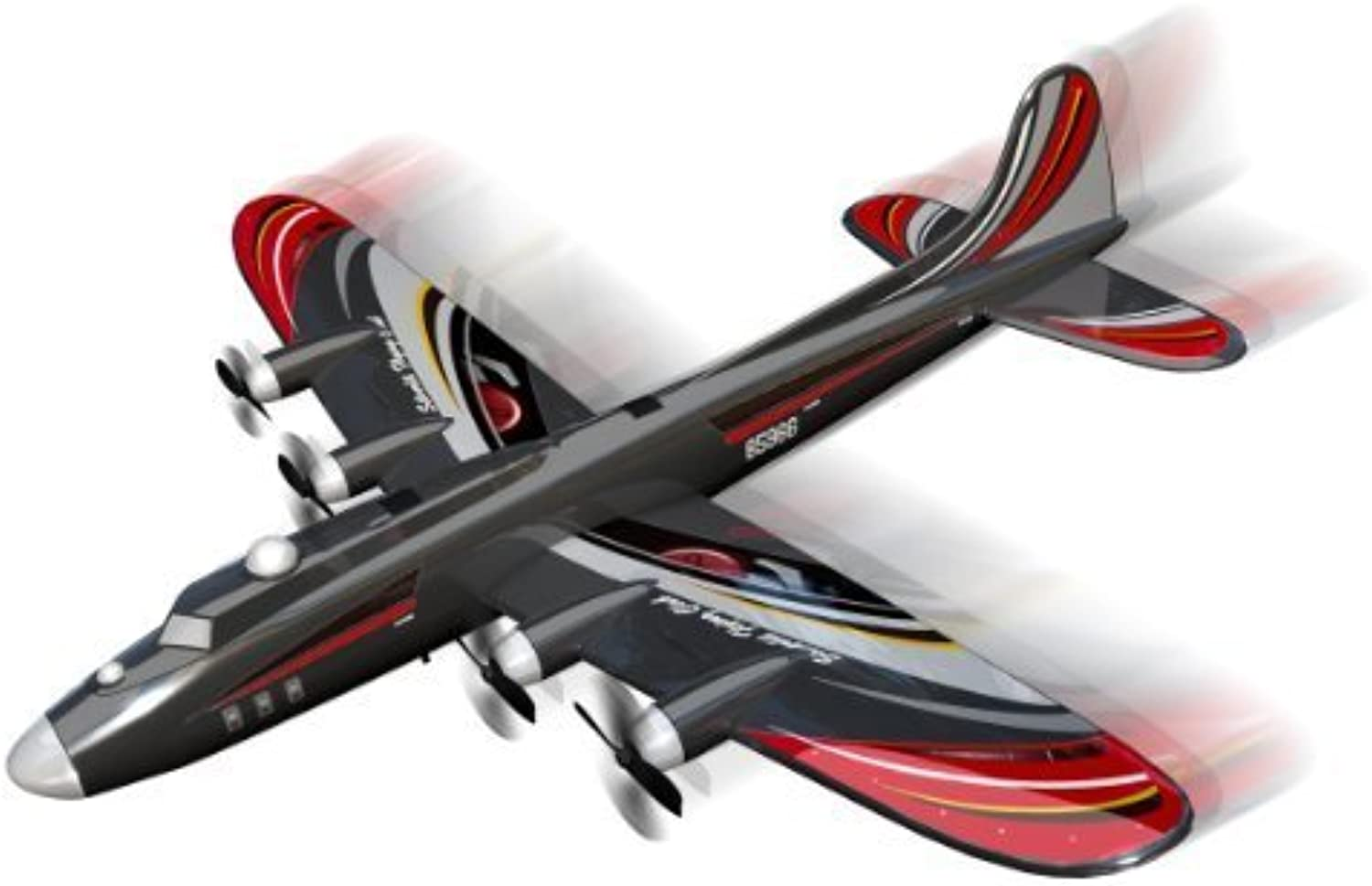 argentolit X-Twin Speedy Plus 2-Channel Radio Control Aeroplane (Colour e Frequency Varies) by argentolit