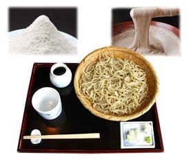 青森県名産品 奥津軽の蕎麦 つくね芋蕎麦 8袋入