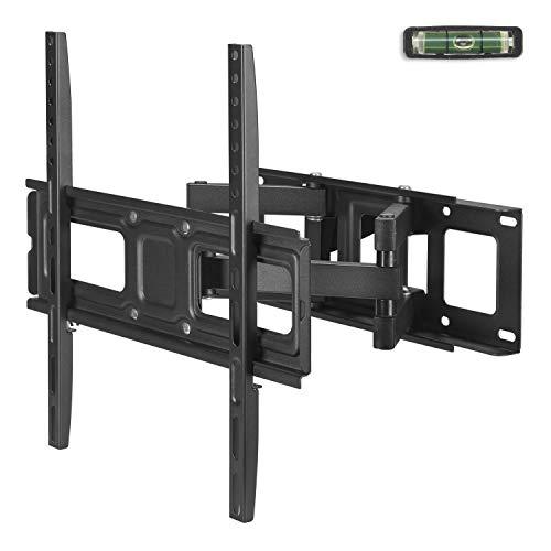 Ribelli® TV Wandhalterung LED LCD 32 – 55 Zoll Wandhalter Fernseher schwenkbar & neigbar (2 Arme, 32-55 Zoll)