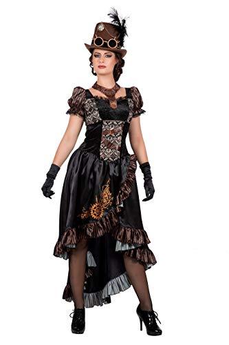 Wilbers - Vestido Steampunk Abigail (talla 36/38)