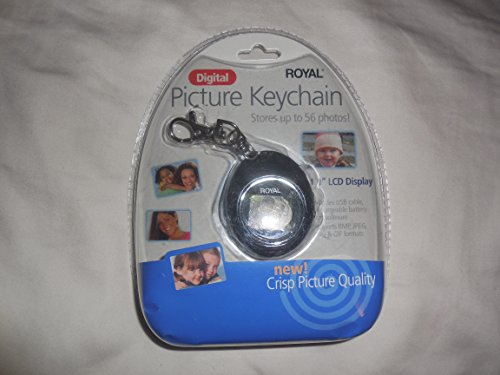 Royal PF110 Key Chain Picture Frame 1.1-Inch Display
