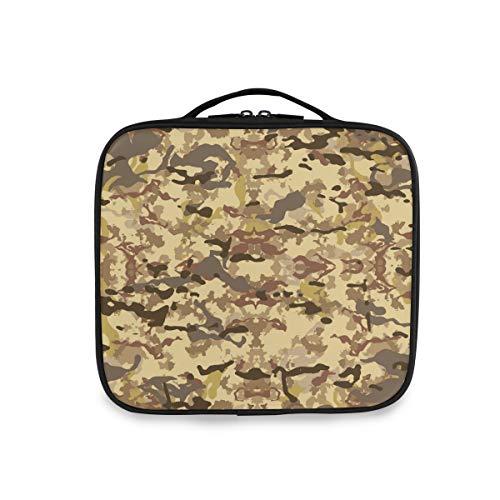 Deziro Trousse à maquillage Motif camouflage