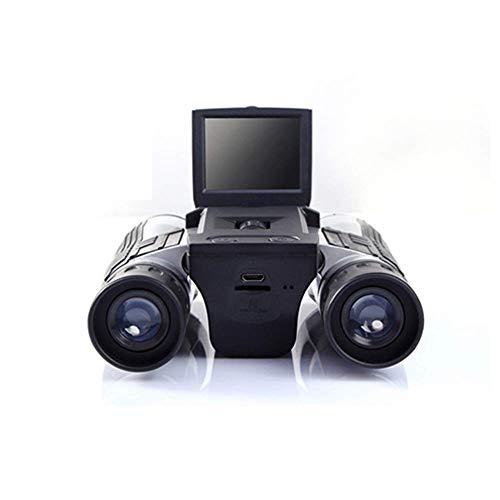 FLYTYSD 2 Pantalla LCD De La Cámara Digital Prismáticos 12X32 5MP Video Foto Cámara del...