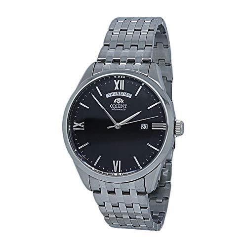 Orient Reloj para hombre automático contemporáneo con esfera negra RA-AX0003B0HB