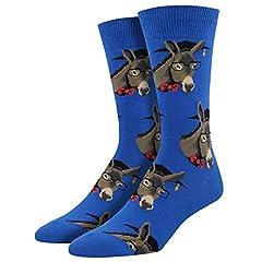 Fits mens shoes size 6-13 Machine washable 63% cotton, 34% nylon, 3% spandex