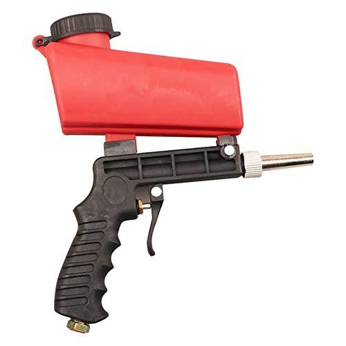 HANDON Kit de Pistola de Chorro de Arena neumática para Todos los proyectos de voladura, elimine Pintura, Manchas, óxido y Suciedad en Las Superficies para Polvo de óxido, elimine la Everyone