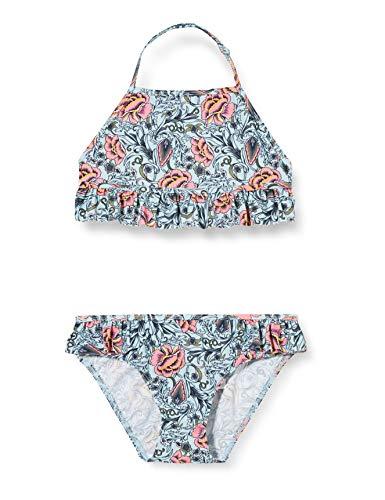 NAME IT Nkfzarolina Fringe Bikini Juego, Dream Blue, 122-128 para Niñas