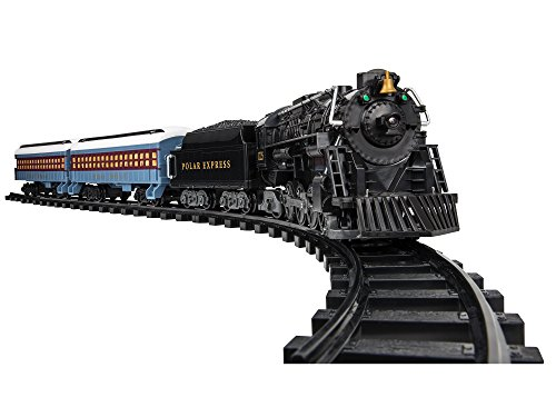 Lionel The Polar Express Ready-to-Play Set, Battery-Powered Berkshire-Style Model Train Set with Remote