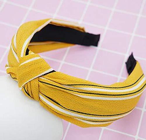 Turbantes para Mujer Diademas Women Headband Small Fresh and Simple Headband Cross Knotted Design Headdress Hair Accessories 30