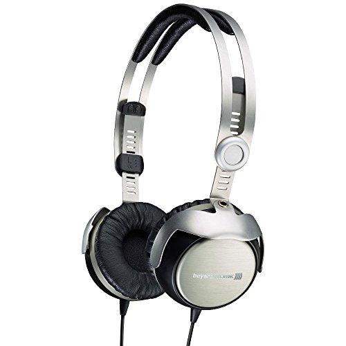 Beyerdynamic T51p - Auriculares de Diadema Cerrados (Reducción de Ruido), Plateado