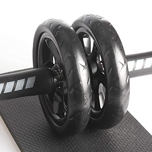Quesuc Ab Roller Wheel Rodillo Deportivo, Abdominales Rueda, Rodillo Entrenador De Músculo Abd...