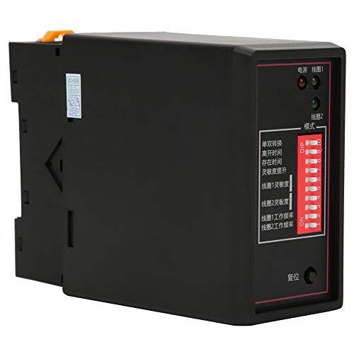 Detector de Bucle de vehículo PD232 Detector de Bucle de vehículo inductivo de Doble Canal para estacionamiento de automóviles