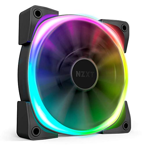 NZXT AER RGB 2 - HF-28120-B1 - 120mm - Advanced Lighting Customizations -...