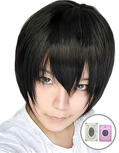 Schwarz Haare kurze Schwarz Per e Schwarz