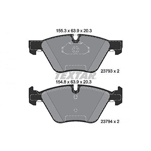 TEXTAR Bremsbelagsatz für Scheibenbremse , epad, 2379381