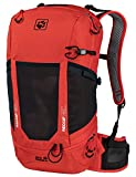 Jack Wolfskin Kingston 22 Pack RECCO Paquete de Senderismo, Unisex Adulto, Lava Red, One Size
