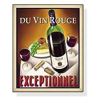 ポスター フォーニー Du Vin Rouge Exceptionnel