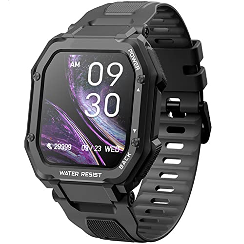 """Lazzzgua Smart Watch with Text and Call 1.69"""" Full Touch Screen Fitness Tracker for Women, Smartwatch with IP67 Waterproof Fitness Watch for Men Women"""