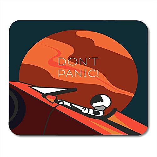QDAS muispads Astronaut in de kamer met een Starman pak op een Tesla Roadster Open Shipped Mouse Pad voor notebooks computer