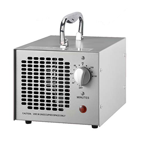 Oz3 Máquina Comercial del purificador del Aire del generador del ozono 3500mg, máquina del ozono del Desodorante de los ionizadores del Aire casero para la eliminación del eliminador del Olor,Gris