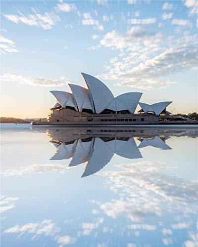 WFTD Puzzle 1000 stück Puzzle Erwachsene Sydney Australian Opera House Erwachsene Kinder geschicklichkeitsspiel Puzzle unmögliche sehr