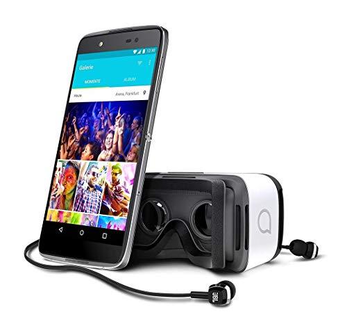 Alcatel Idol 4 Dark Gray 6055P Android Smartphone mit Virtual Reality VR Brille