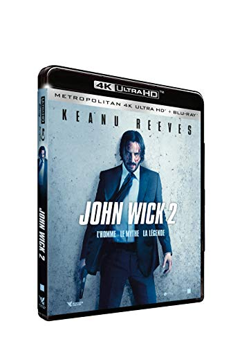 John Wick 2 [4K Ultra HD + Blu-Ray]