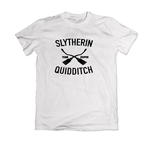 Slytherin Quidditch Harry Potter Quidditch T-Shirt L SW75.