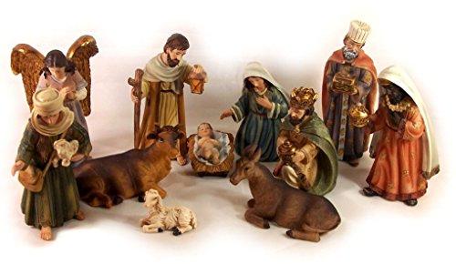 Dekoprojekt Orientalische Krippenfiguren, Set, Polyresin, für Weihnachtskrippe 11-tlg.11 cm