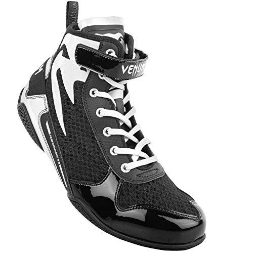 Venum Giant Low Boxing Shoes - Black/White - 42 (US 9)