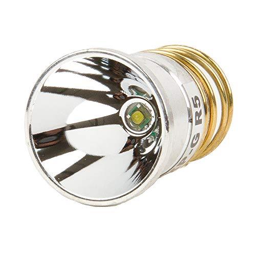 JUSTUP Flashlight Bulb LED 1000 Lumens Smooth Reflector Cree T6 Single Mode 3.0-18V Drop-In- P60 Design: Ultrafire,Surefire, Hugsby , C2 G2 Z2 6P 9P G3 S3 D2 Ultrafire 501B 502B by JustupÃ'Â